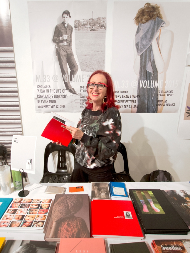 Helen Frajman m.33 @ Volume: Another Art Book Fair - September 12+13, 2015