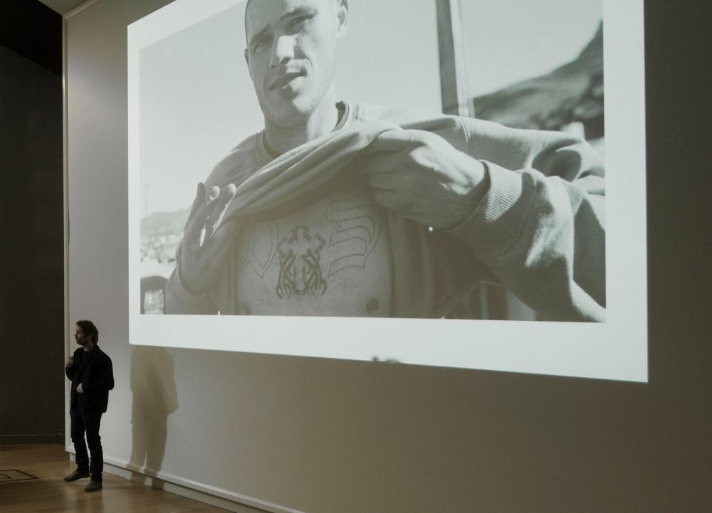 Tim J Veling presenting