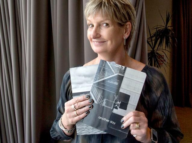 Jackie Lentell and her photobooks